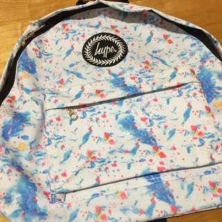 Hype 水彩潑墨背包