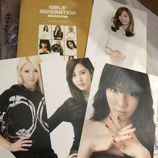 SNSD GIRL GENERATION OFFICIAL POSTCARD