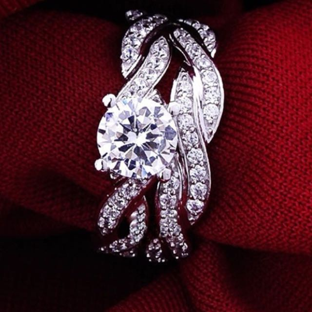 2 piece engagement ring
