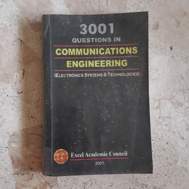 3001 Questions in Communications Engineering