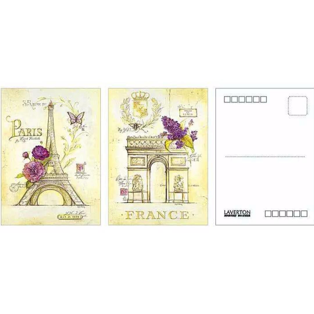 異國風情明信片(一組兩張)
