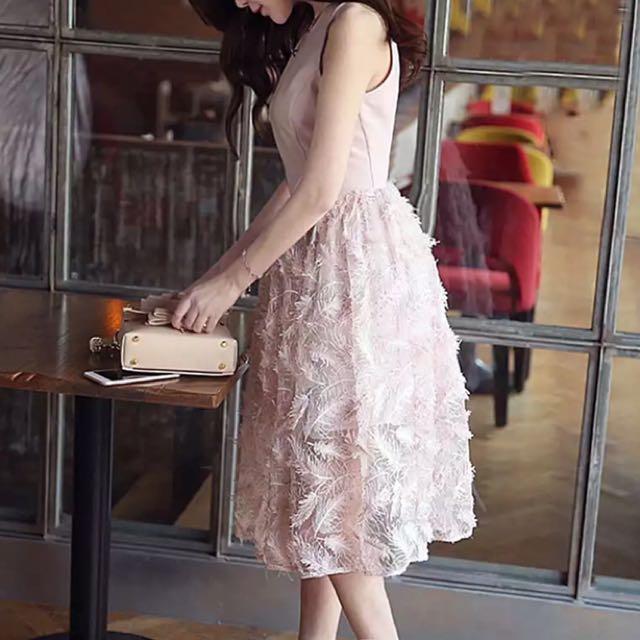 含運便宜賣#尾牙#小禮服#羽毛洋裝