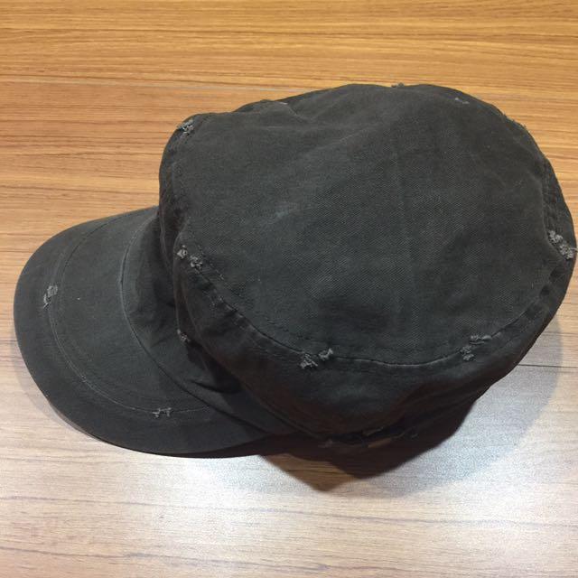 破壞復古咖啡色軍帽