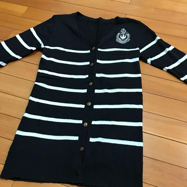 學院風針織外套
