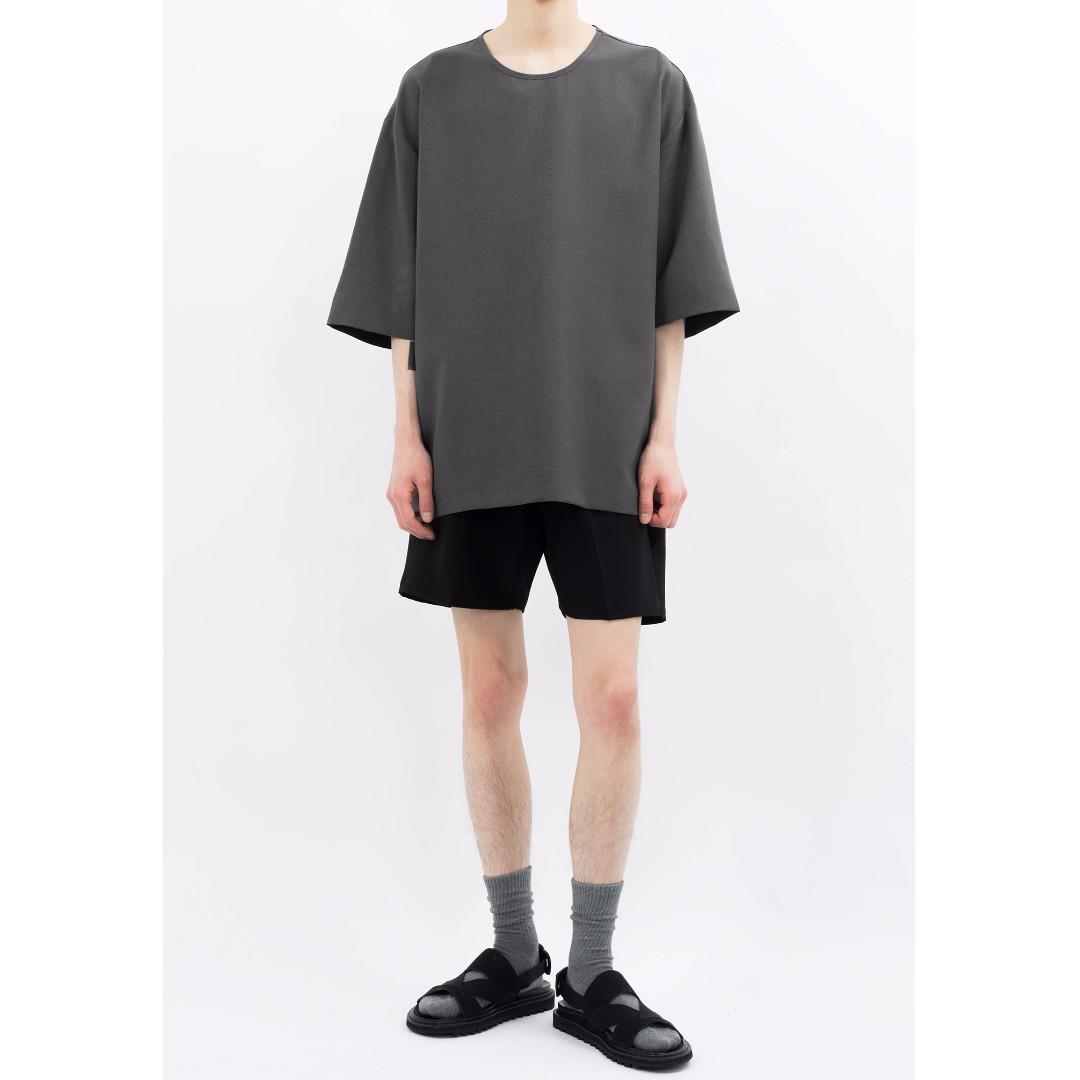 韓國帶回 黑綁帶休閒短褲