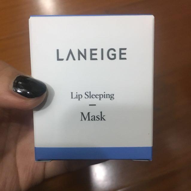 蘭芝 睡美人極萃滋養晚安唇膜