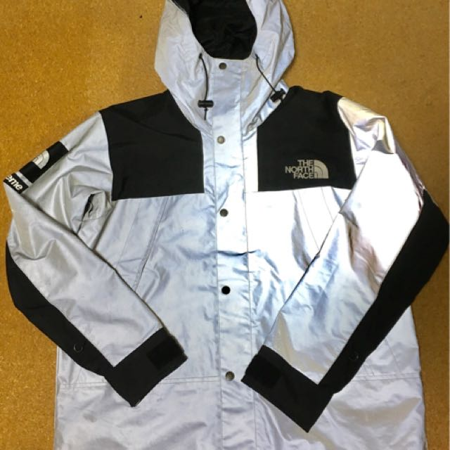 b1200c25fb69 代購)中古Supreme x The North Face Reflective 3M Mountain Parka ...