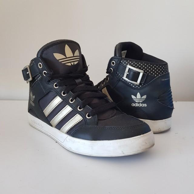Adidas Hardcourt High Black/Gold/White