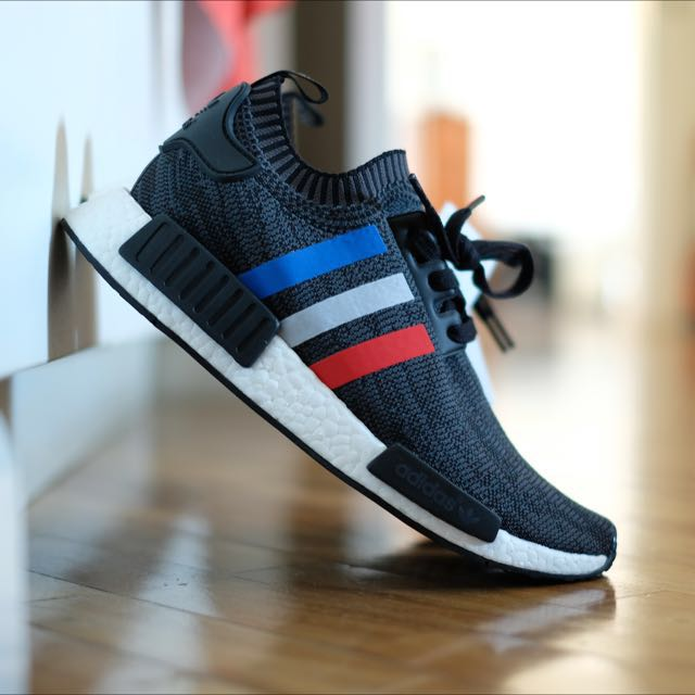 more photos 95263 60675 Adidas NMD R1 Primeknit, Men s Fashion, Footwear on Carousell