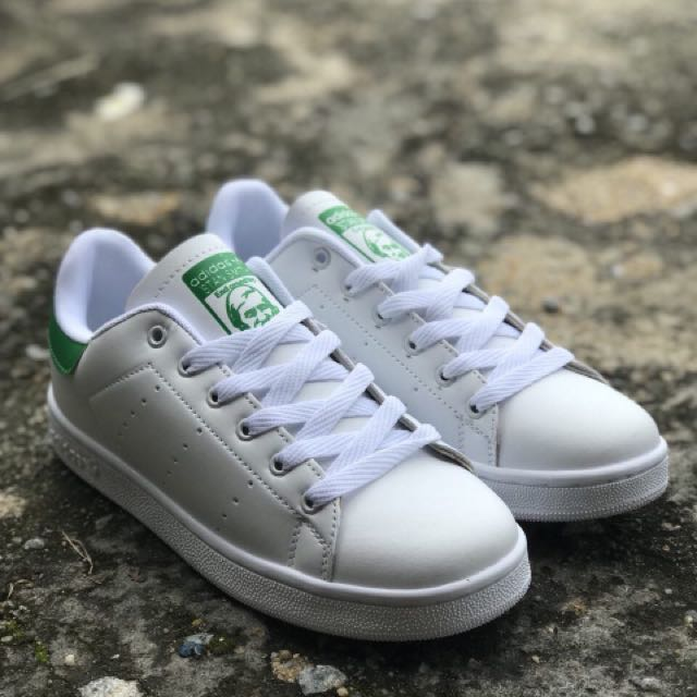 7d84e85f3c9 ADIDAS STAN SMITH WHITE GREEN (GRED AAA)