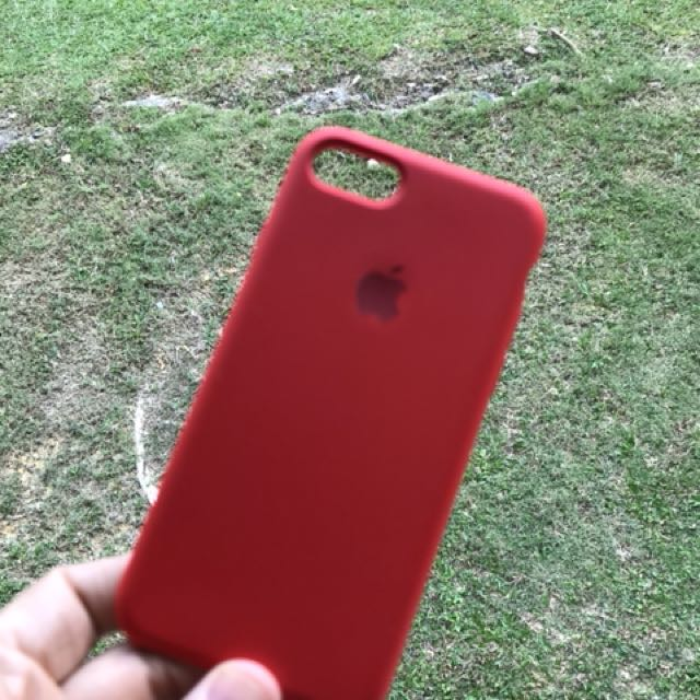 huge discount fb16a 1e61e Apple iPhone 7/8 Product Red Silicone Case