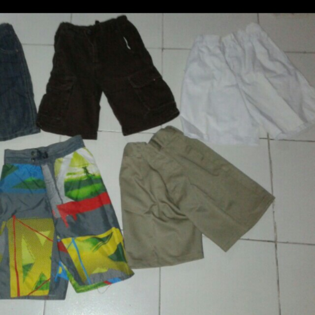 assorted boy shorts