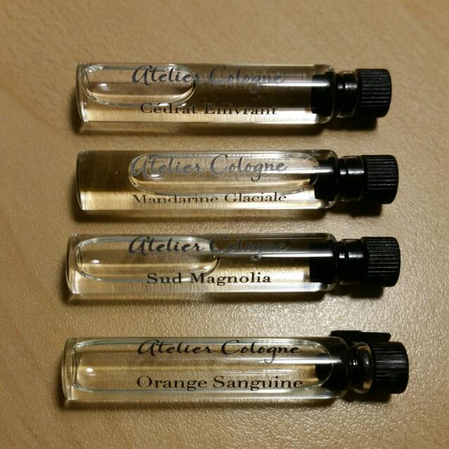 Atelier Cologne Perfume Sampler Set