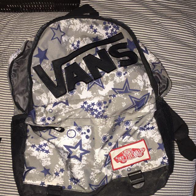 Authentic Vans Bag!