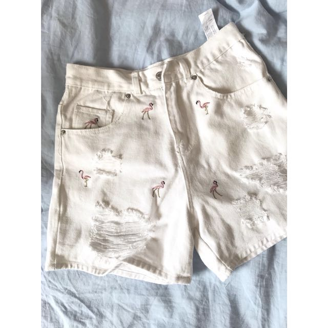 2f3f4244 Authentic Zara flamingo HW shorts, Women's Fashion, Clothes, Pants, Jeans &  Shorts on Carousell
