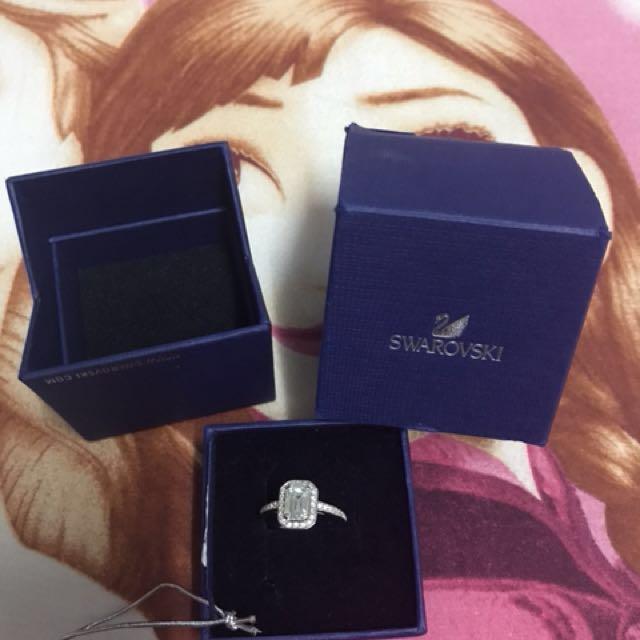 Authenticated swarovski ring