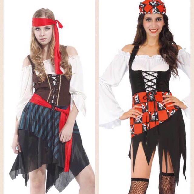 9170a8ad3 Aye aye captain ! Pirate halloween costume, Women's Fashion, Women's  Clothes on Carousell