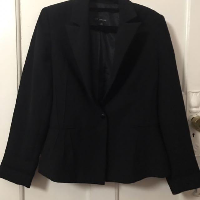 Black blazer - Liz Jordan brand jacket