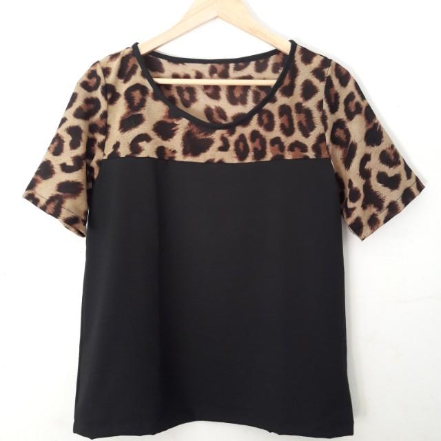 Blouse Leopard Neunina