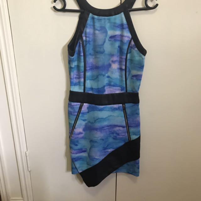 Blue dress size 8