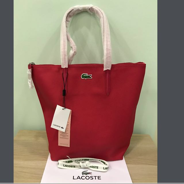 18952a2d4b9 BN 💯 Original Lacoste Tote Bag, Women's Fashion, Bags & Wallets on ...