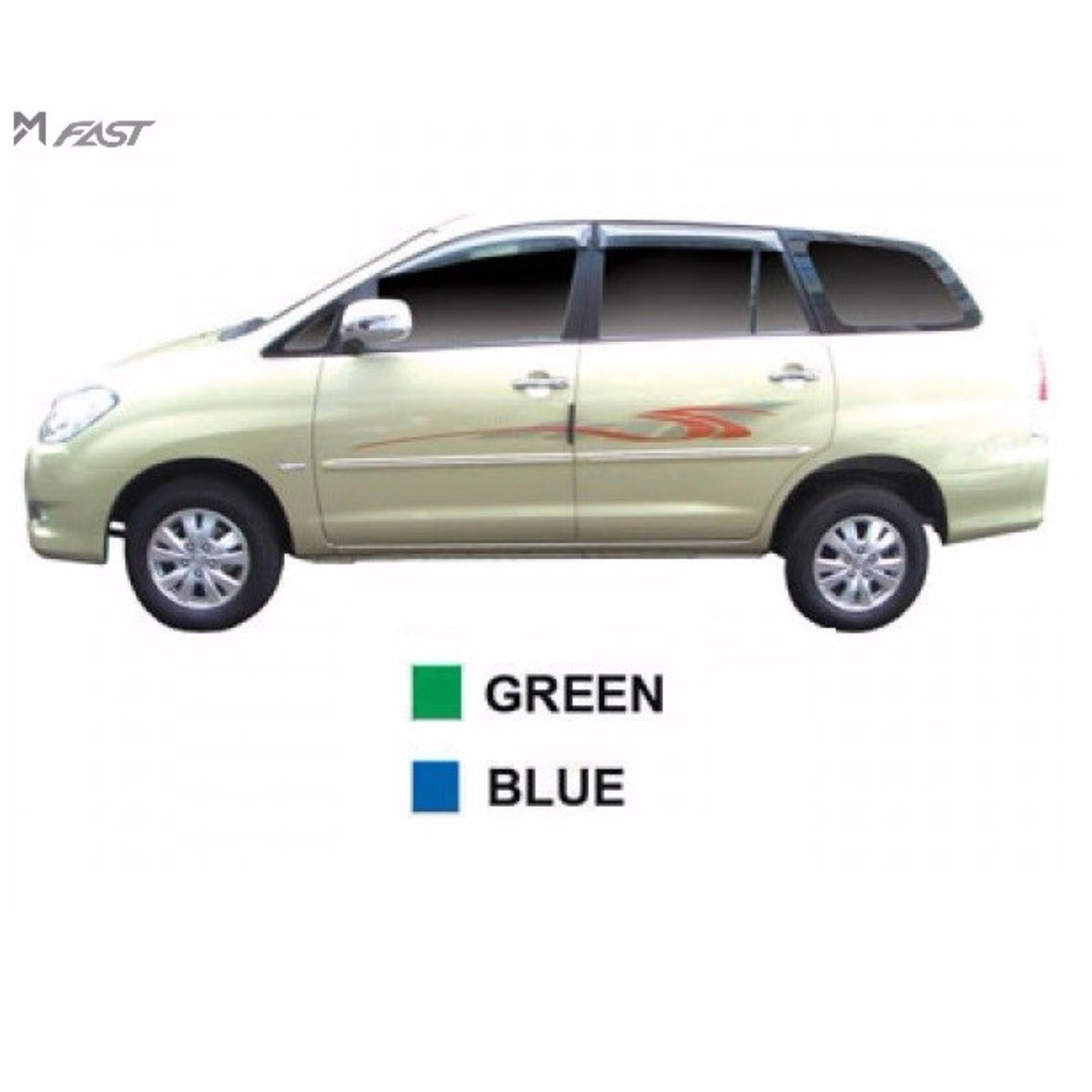 Body sticker side body lining toyota innova auto accessories on carousell