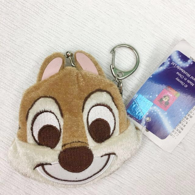 Brand new Disney chip n dale coin purse