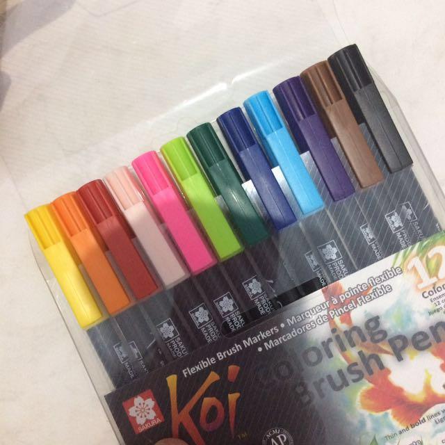 Brush Pen Koi Sakura 12 pcs