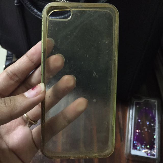 Case iphone 5 golden side