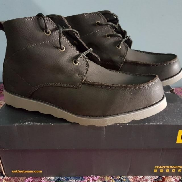 Caterpillar Shoe Mens Fashion Footwear On Carousell