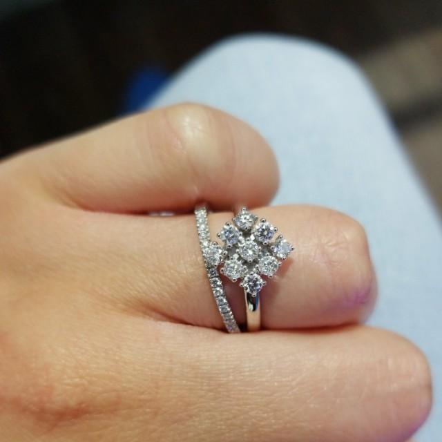 Chow tai fook diamond ring
