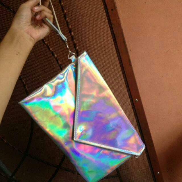 Clutch Slingbag Hologram Holonatic