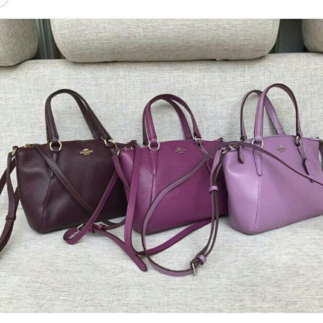 d196d45e97d2 COACH Mini Kelsey Satchel in Pebble Leather (57563), Women's Fashion, Bags  & Wallets on Carousell