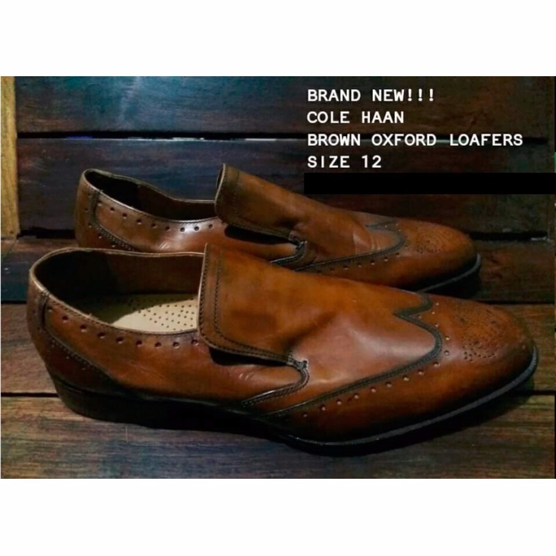 Cole Haan Loafers Shoes - Brown Oxford (original from US)