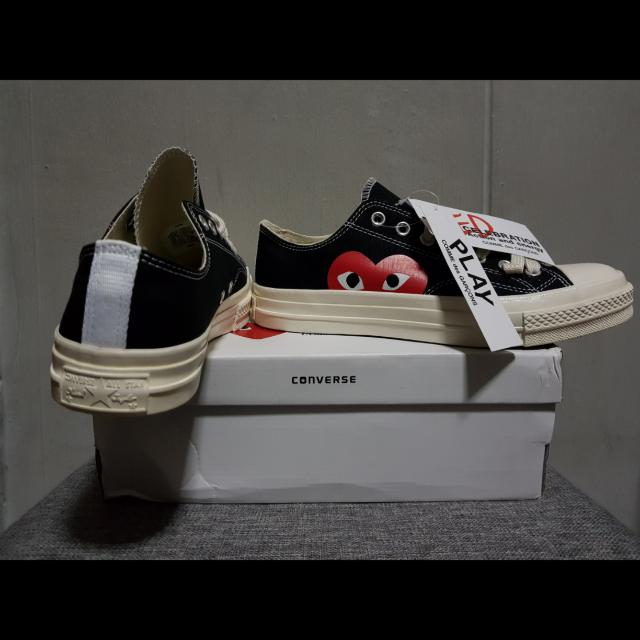 4eed5b215171 Converse Comme Des Garcons BLACK LOW CDG