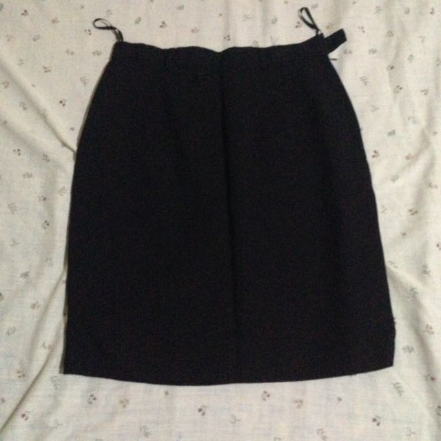 Corporate Black Skirt
