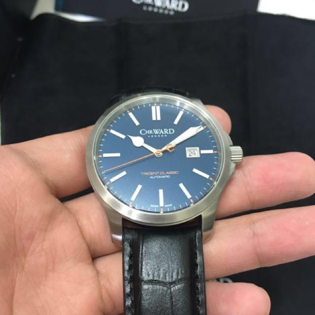CW 瑞士自動機械 潛水錶 限量版 全新品 特殊配色