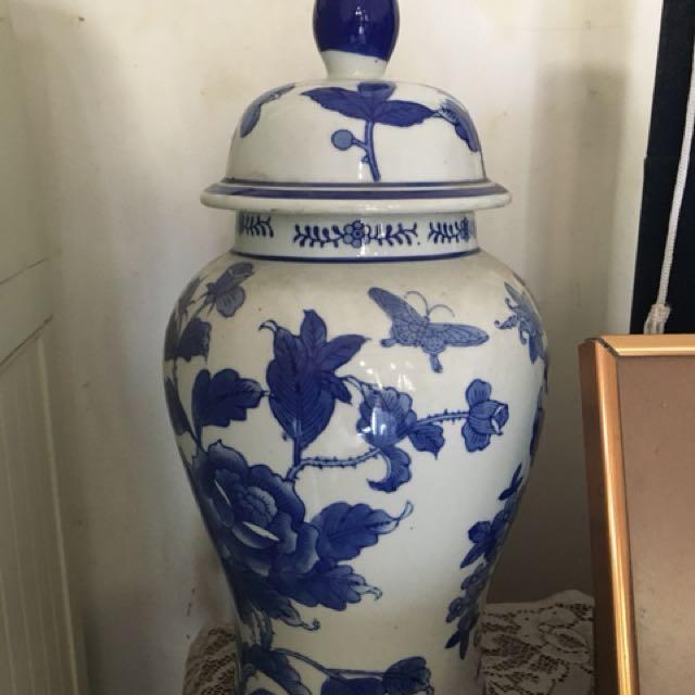 Dijual Cepat Keramik Bunga Vintage
