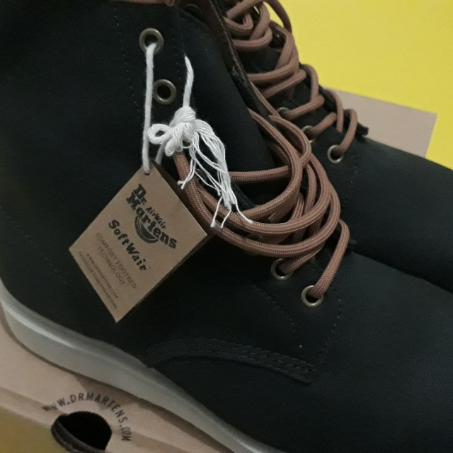 DR MARTENS WHITON ARMY GREEN + BISCUIT SIZE 43