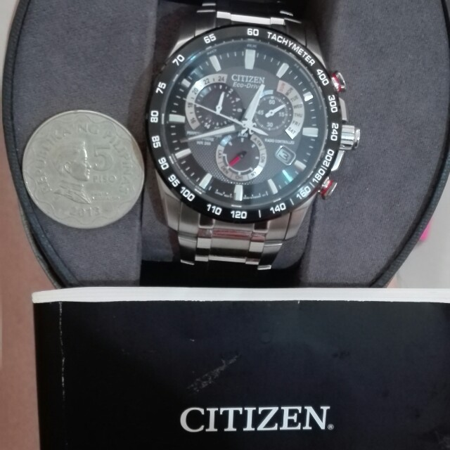 Citizen Eco Drive Watch At4 Cale650 Ctz A8151 Luxury Watches On