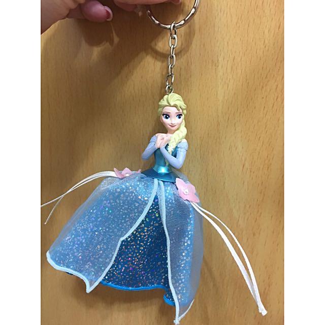 迪士尼Elsa鑰匙圈、吊飾