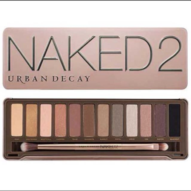 Eyeshadow Pallete Naked 2 Urban Decay