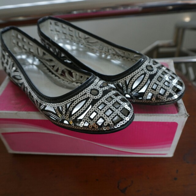 Flat shoes payet