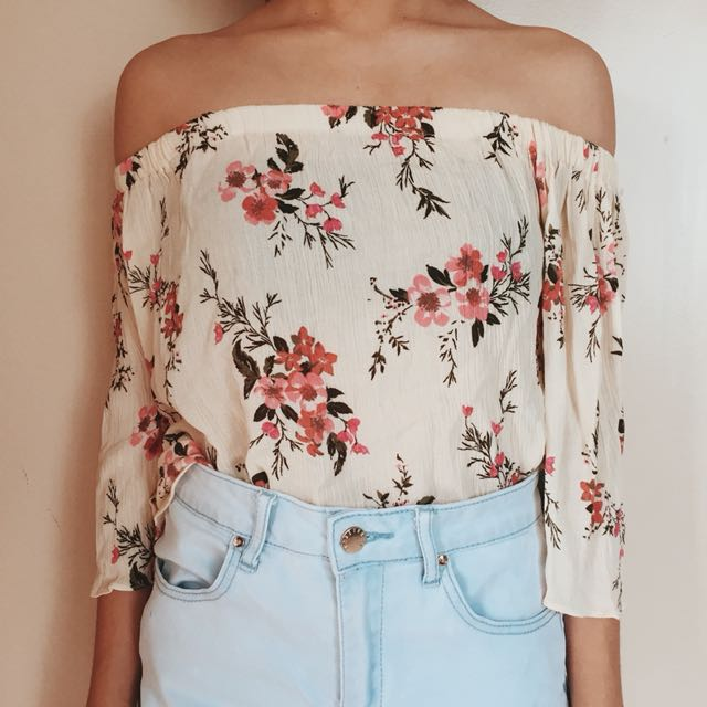 Floral Off Shoulder (From TrippySwag)