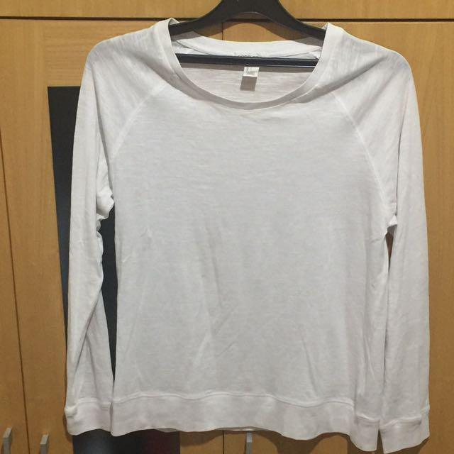 Forever 21 White Sweatshirt