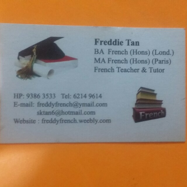 French Tuition ( Individual Or Group)