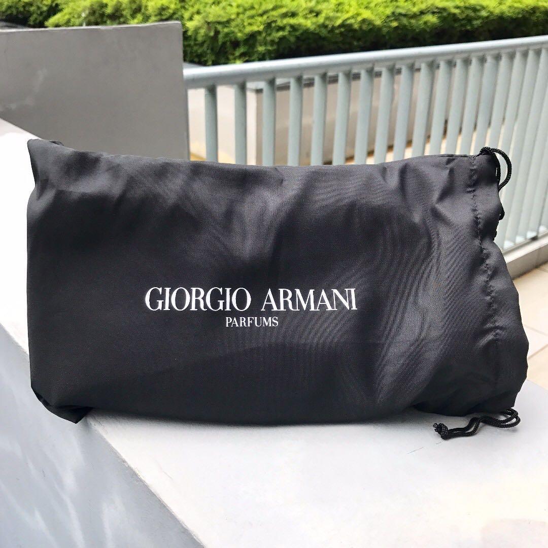 3fb8e90fc53e Giorgio Armani Homme Toiletries Bag in Navy