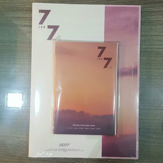 GOT7 7 for 7 album (Magic hour ONLY)
