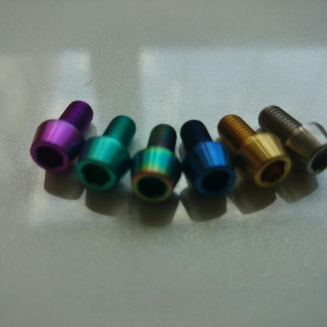 Grade 5 Titanium Bolt  Ready Stock  Various Colors