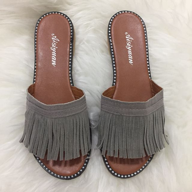 Gray sandal (NEW)